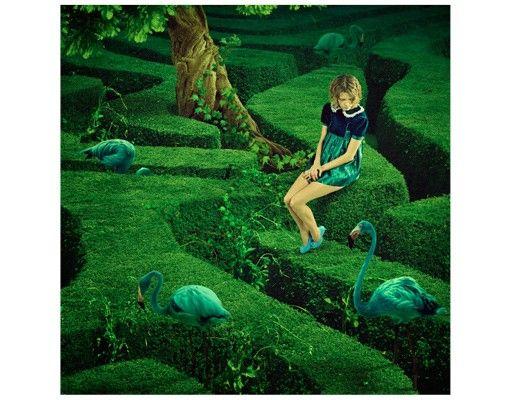 Beistelltisch - Frau im Labyrinth