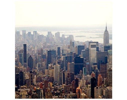 Beistelltisch - Der Morgen in New York