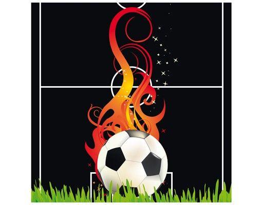 Beistelltisch - Football on Fire