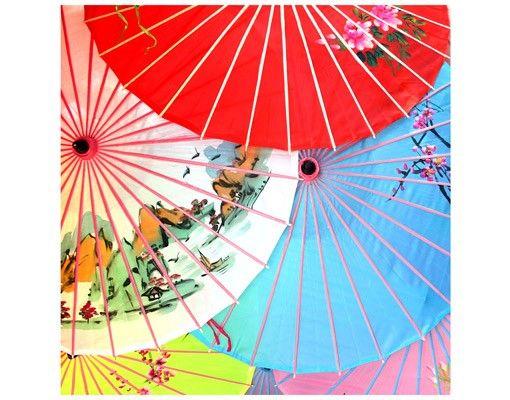 Beistelltisch - Chinese Parasols