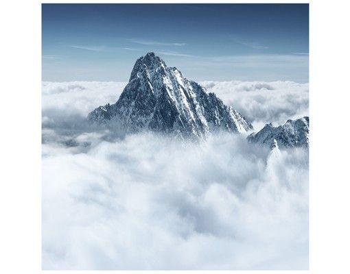 Beistelltisch - Die Alpen über den Wolken