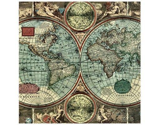 Beistelltisch - Die alte Welt