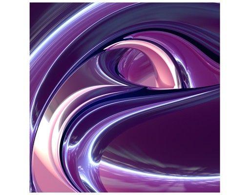 Beistelltisch - Circles in Purple