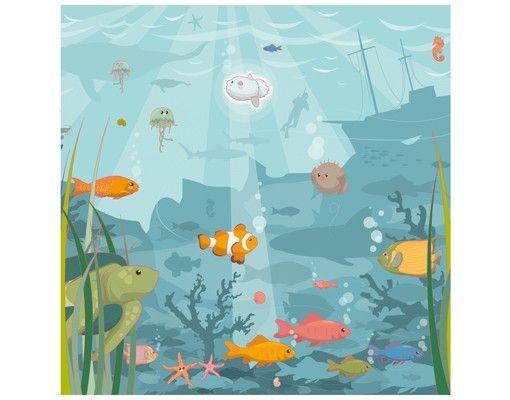 Beistelltisch - Meereslandschaft