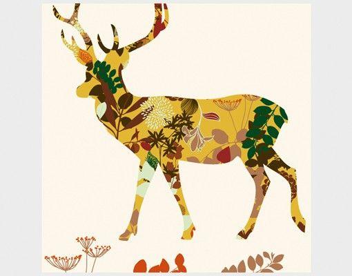 Beistelltisch - Floral Deer