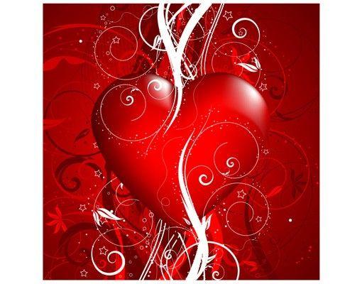 Beistelltisch - Floral Heart