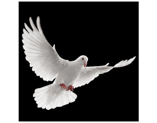 Beistelltisch - Friedenstaube