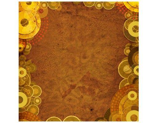 Beistelltisch - Goldene Kreise