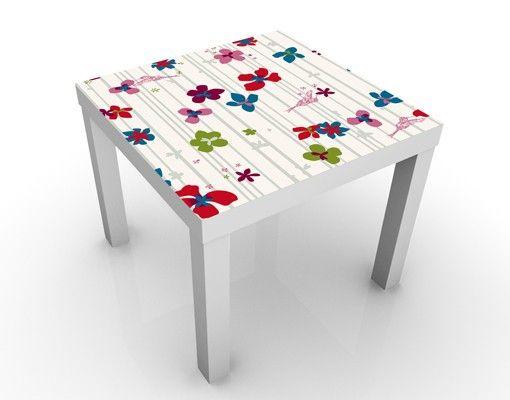 Beistelltisch - Floral Pattern