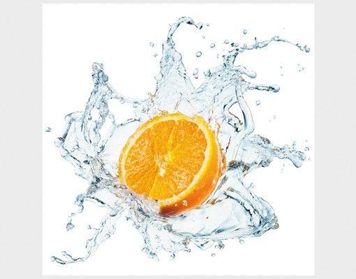 Beistelltisch - Frische Orange