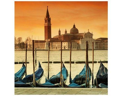 Beistelltisch - Gondeln in Venedig