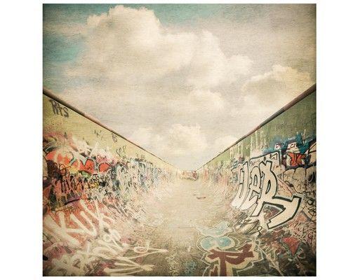 Beistelltisch - Graffiti-Skatepark