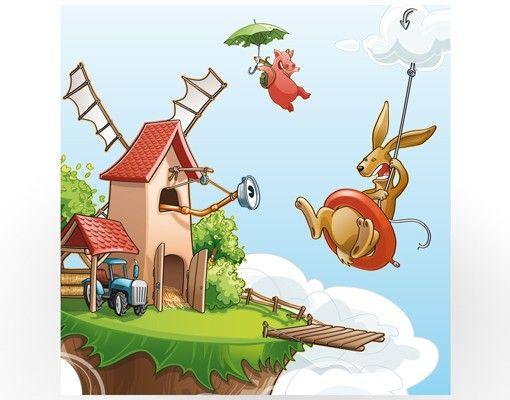 Beistelltisch - Fliegender Bauernhof Ausflug