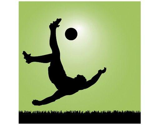 Beistelltisch - Fußballer in Aktion