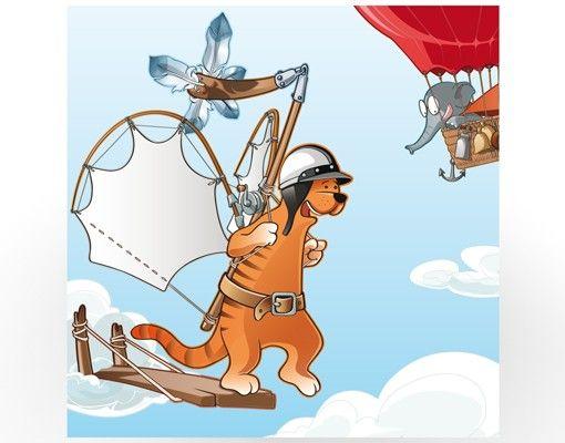 Beistelltisch - Fliegender Bauernhof Katze unterwegs