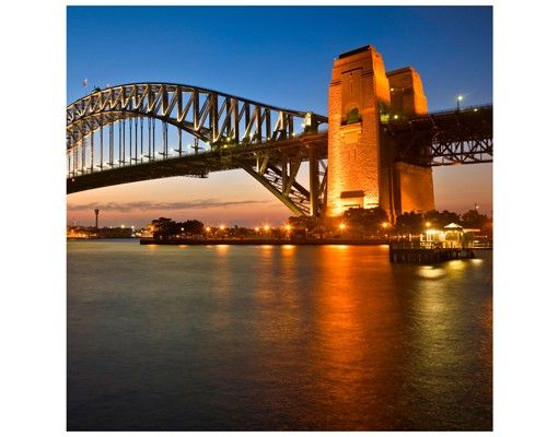 Beistelltisch - Harbour Brücke in Sydney