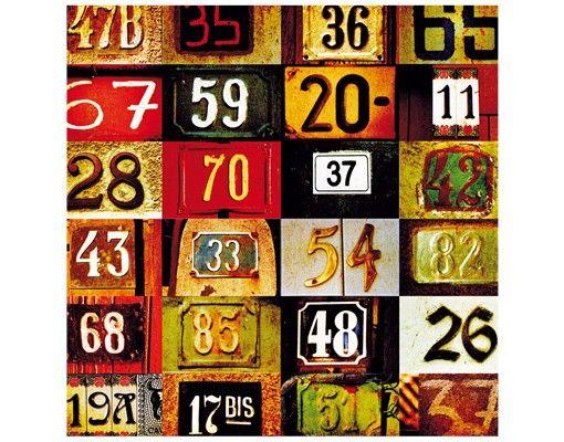 Beistelltisch - Numbers