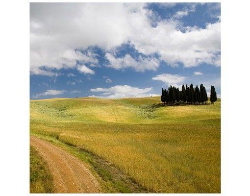 Beistelltisch - Zypressen in der Toskana