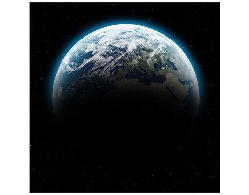 Beistelltisch - Illuminated Planet Earth