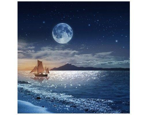 Beistelltisch - Moon Night Sea
