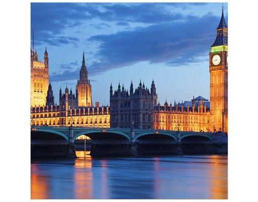 Beistelltisch - London bei Nacht