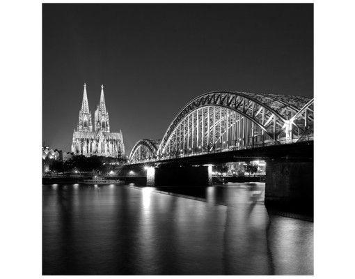 Beistelltisch - Köln bei Nacht II