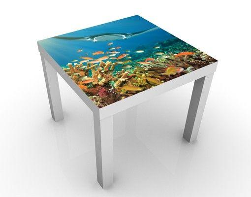 Beistelltisch - Korallenriff