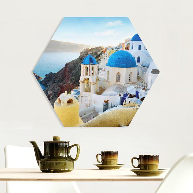 Hexagon Bild Forex - Santorini
