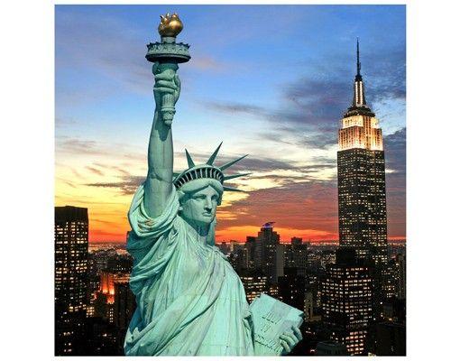 Beistelltisch - New York At Night