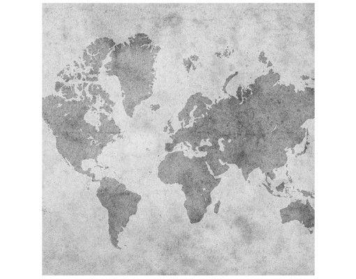 Beistelltisch - Vintage Weltkarte II