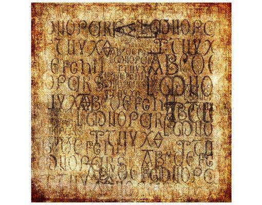 Beistelltisch - Old Letters