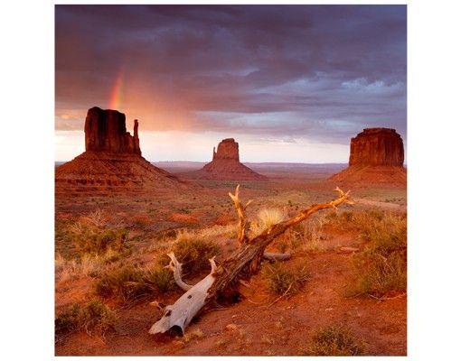 Beistelltisch - Monument Valley bei Sonnenuntergang