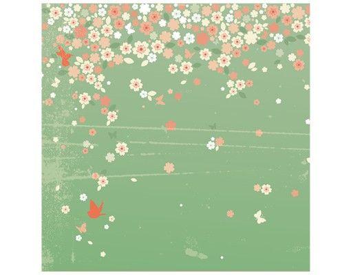 Beistelltisch - Spring Background