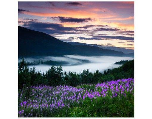 Beistelltisch - Paradiesisches Tal in Norwegen