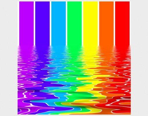 Beistelltisch - Rainbow Coloured