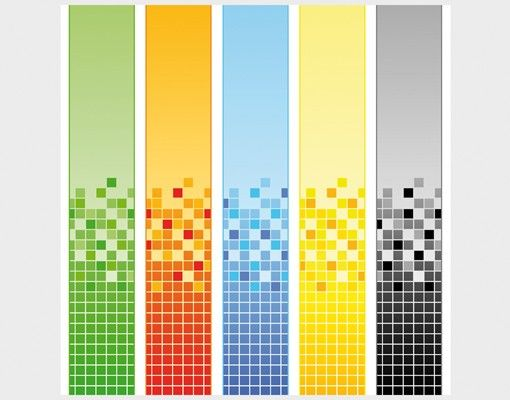 Beistelltisch - Pixel Mix
