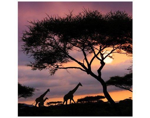 Beistelltisch - Safari in Afrika