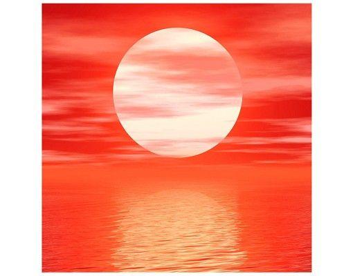 Beistelltisch - Red Sunset
