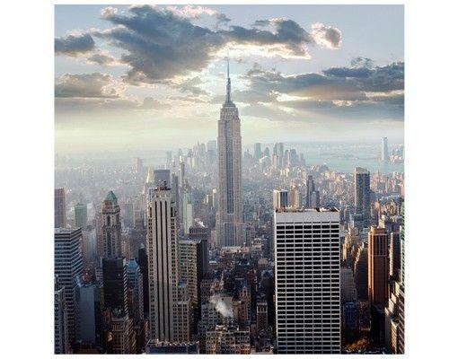 Beistelltisch - Sonnenaufgang in New York