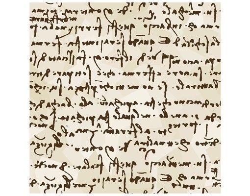 Beistelltisch - Da Vinci Manuskript