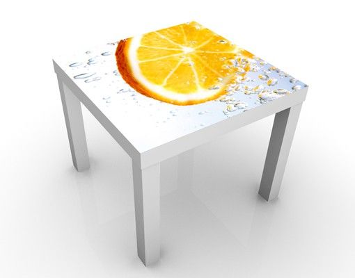 Beistelltisch - Splash Orange