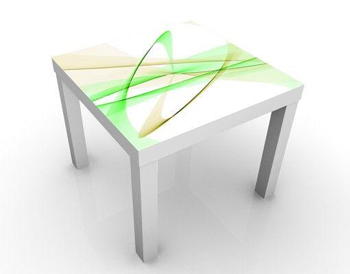 Beistelltisch - Transparent Waves