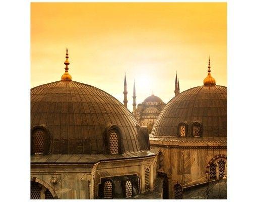 Beistelltisch - Über den Dächern von Istanbul