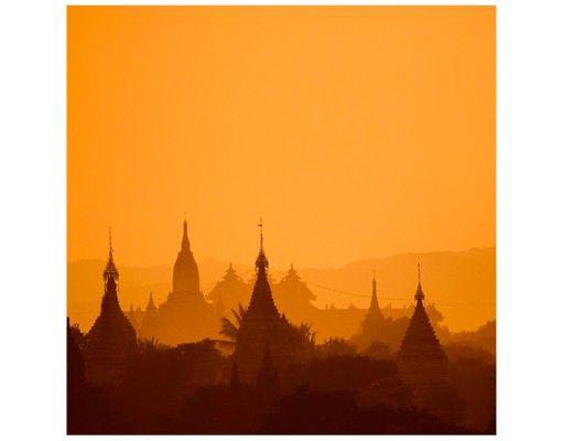 Beistelltisch - Tempelstadt in Myanmar