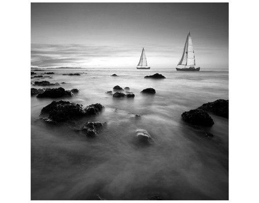 Beistelltisch - Segelschiffe im Ozean II