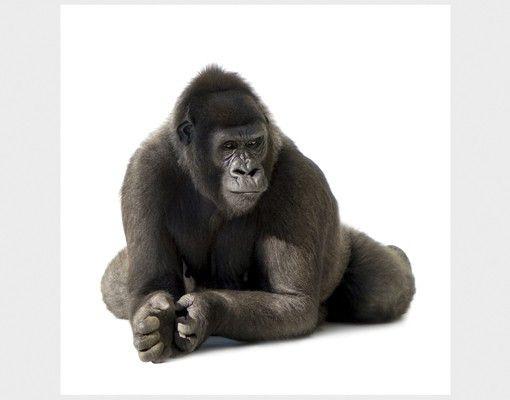 Beistelltisch - Liegender Gorilla