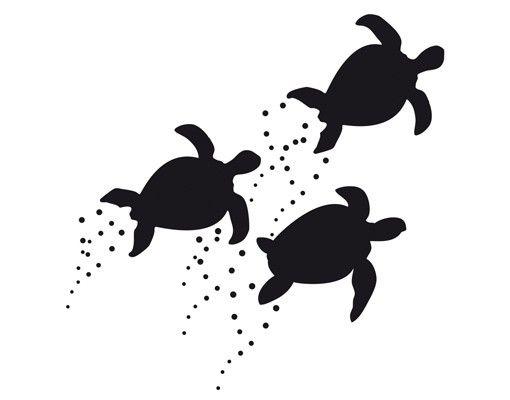 Wandtattoo Fische No.CA34 Turtle Shoal