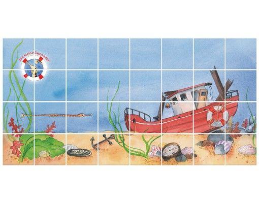 Fliesenbild - Die kleine Seenadel© Entdeckungstour