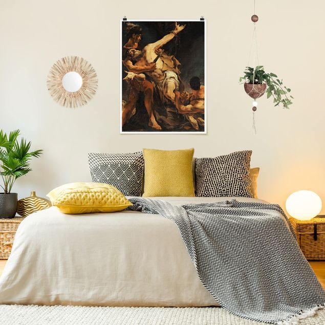 Poster - Giovanni Battista Tiepolo - Martyrium - Hochformat 3:4
