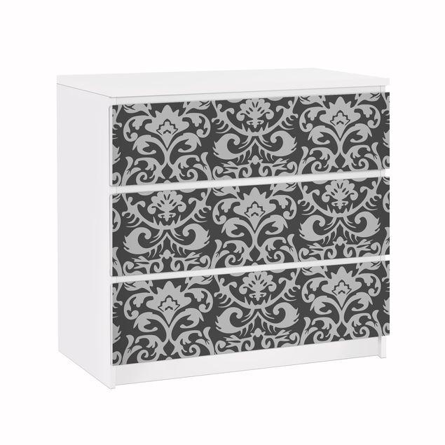 Möbelfolie für IKEA Malm Kommode - Klebefolie The 7 Virtues - Temperance